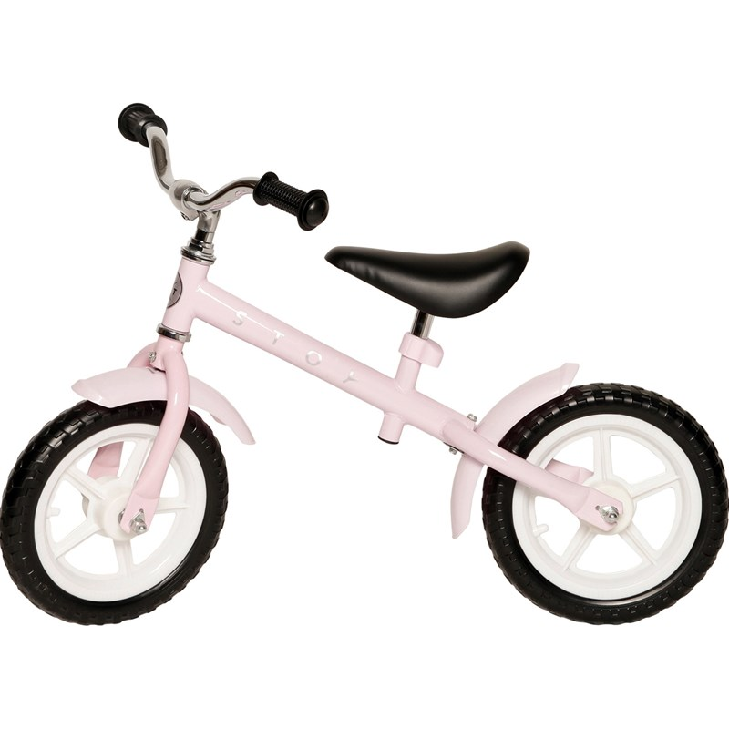 STOY Speed Springcykel 12 tum Rosa One Size