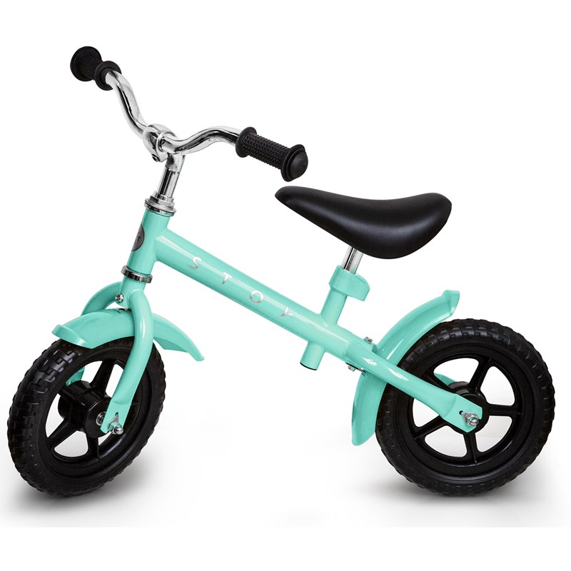 STOY Speed Springcykel 10 tum Mint 24 months – 4 years