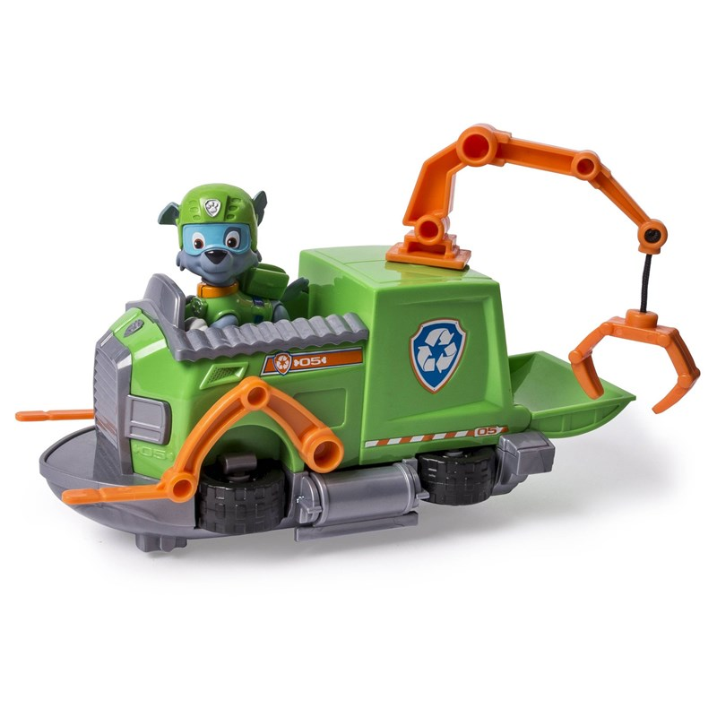 Paw Patrol Basic Vehicle With Pup Rocky´s Tugboat 3 – 8 years