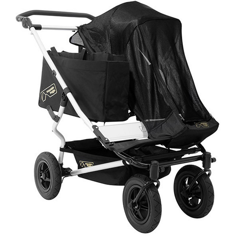 Mountain Buggy Solskydd Duet One Size