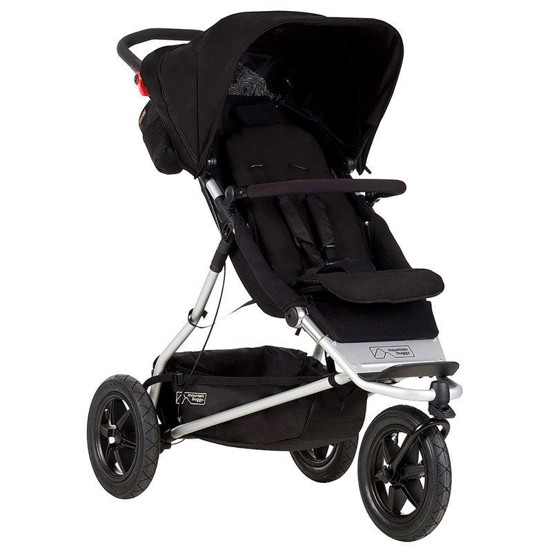 Mountain BuggySyskonvagn, Plus ONE, Black