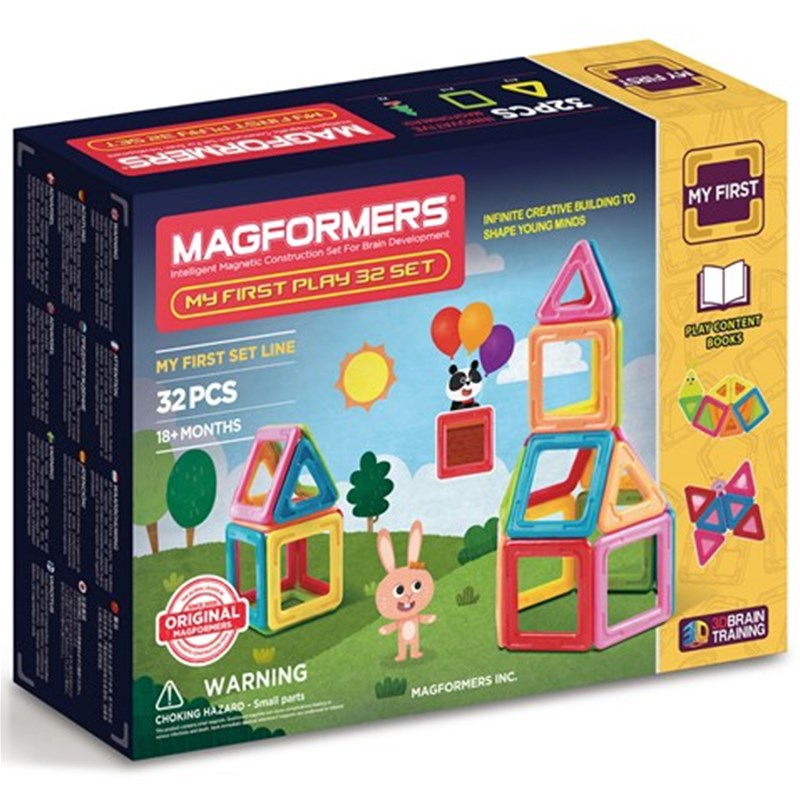 Magformers Magformers My First Play 32 Set One Size