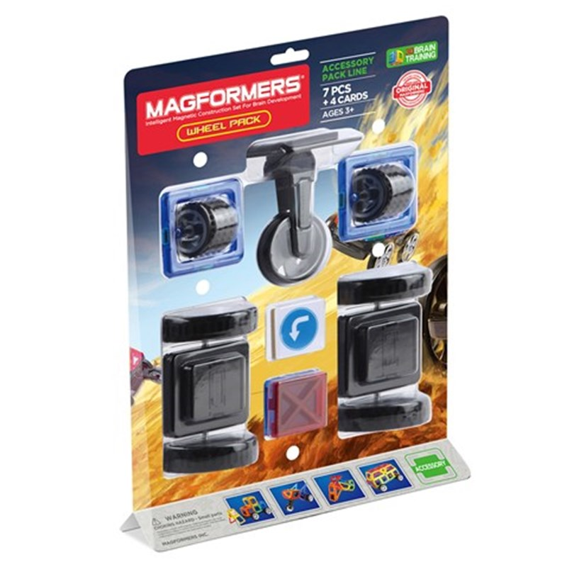 Magformers Magformers Hjul Set 7-Pack One Size