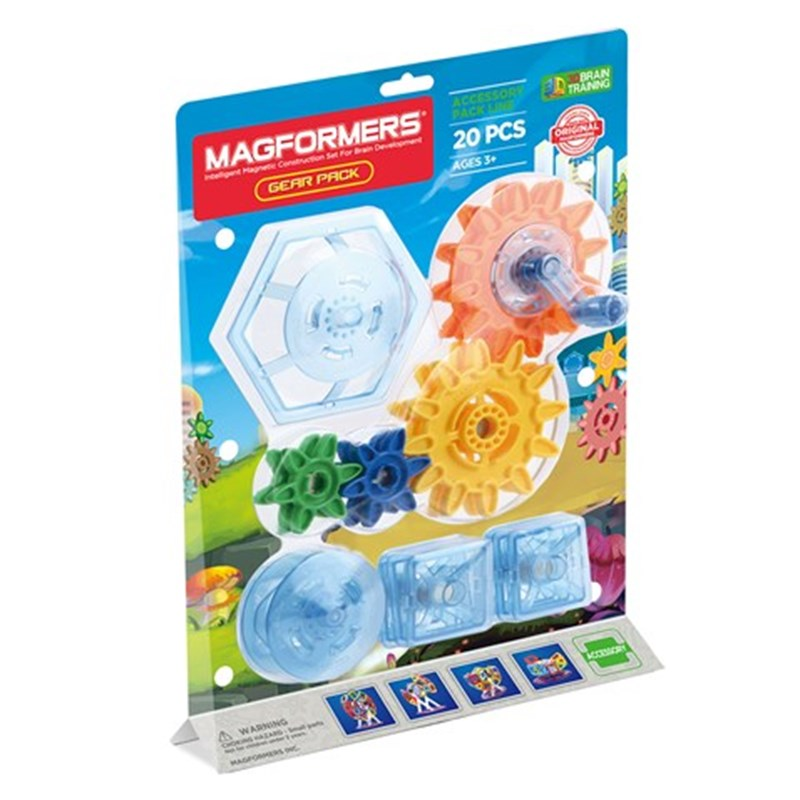 Magformers Magformers Gear Pack 20 delar One Size