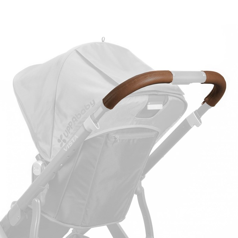 UPPAbaby VISTA Läderhandtag Saddle One Size