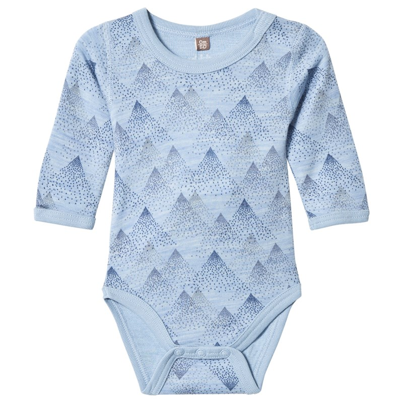Hust&Claire Baby Body Blue Dawn Melange 62 cm