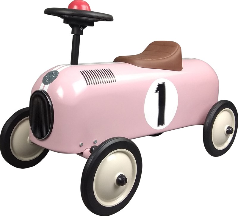 STOY Metal Racer Little Pink Car One Size
