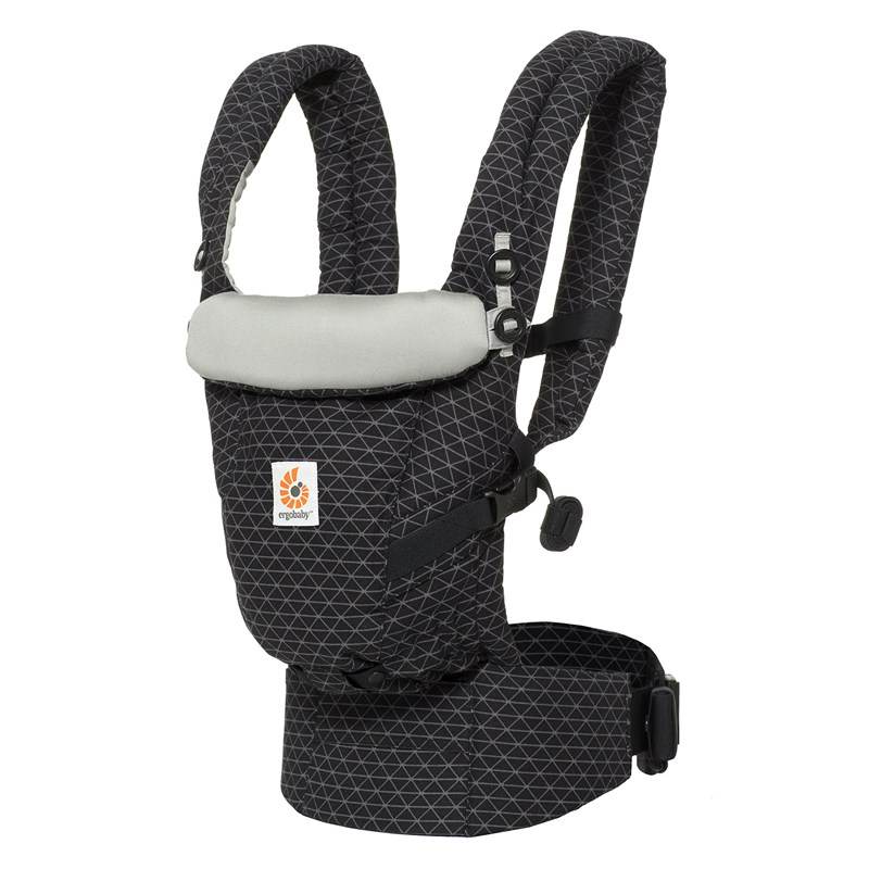 Ergobaby Adapt Bärsele Geo Black One Size