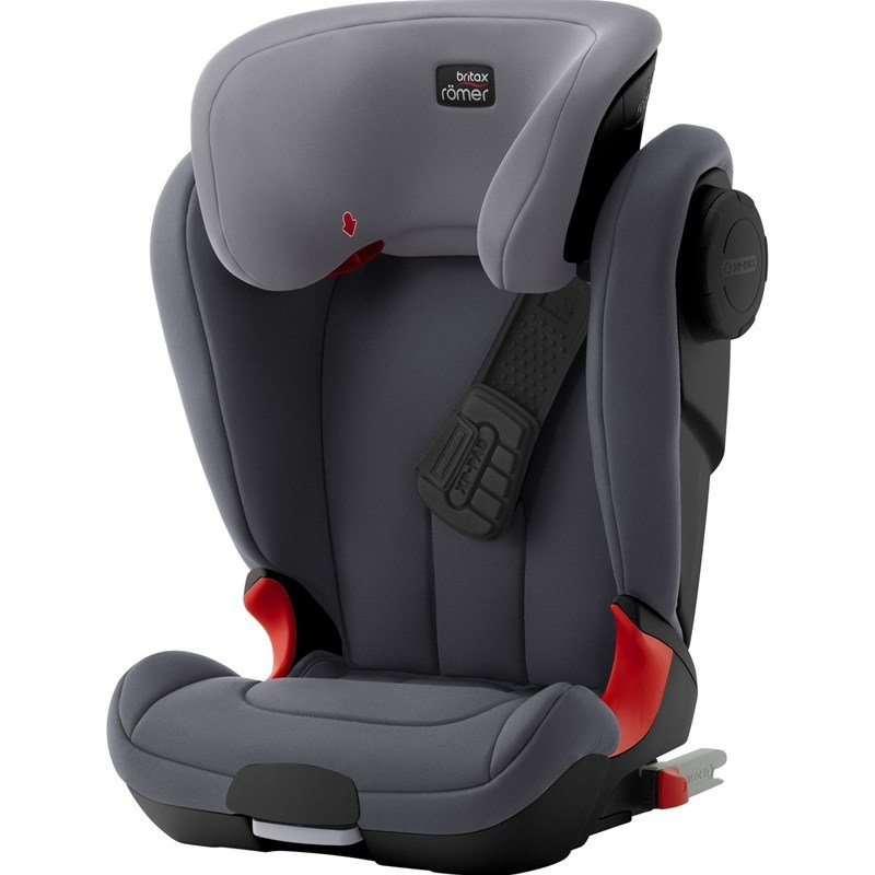 Britax Kidfix XP Black Series Storm Grey 2018 One Size