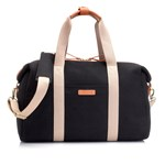 Storksak Bailey Diaper Bag Black Canvas