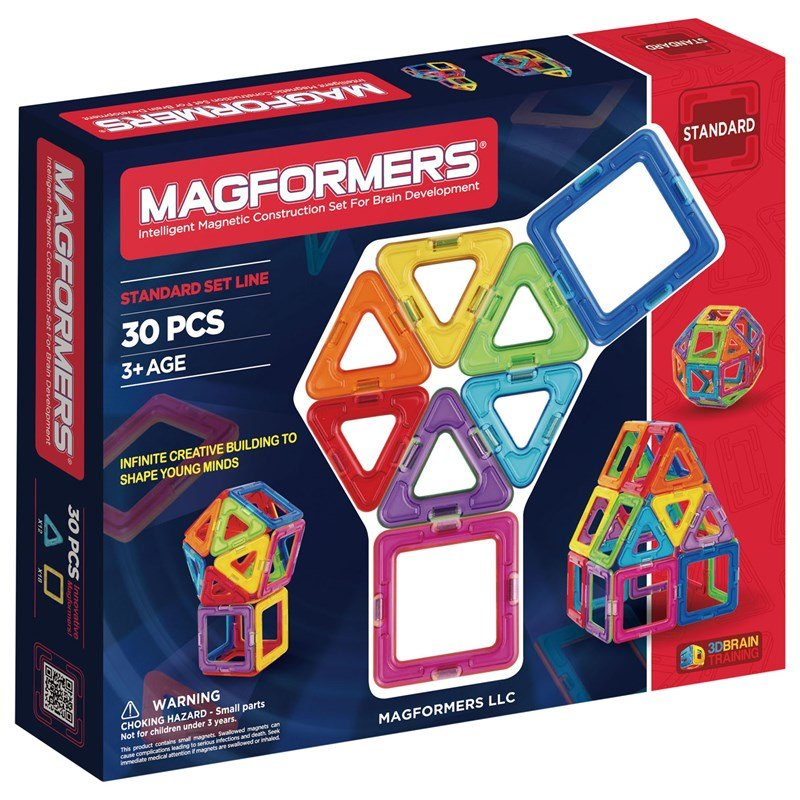 Magformers Rainbow 30-delar Byggset One Size