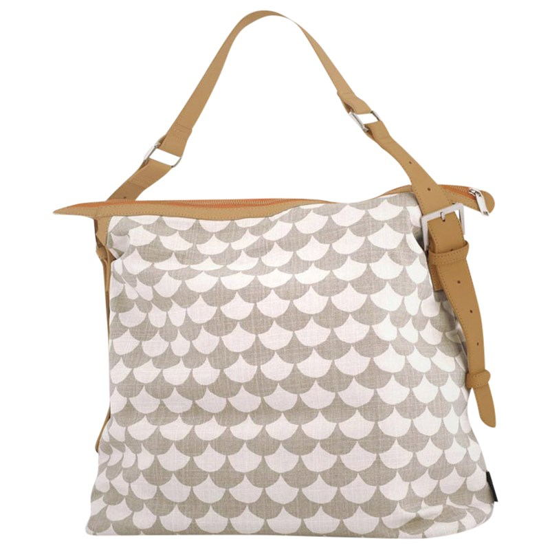 Littlephant Messenger Bag Waves Grey/Grey Onesize