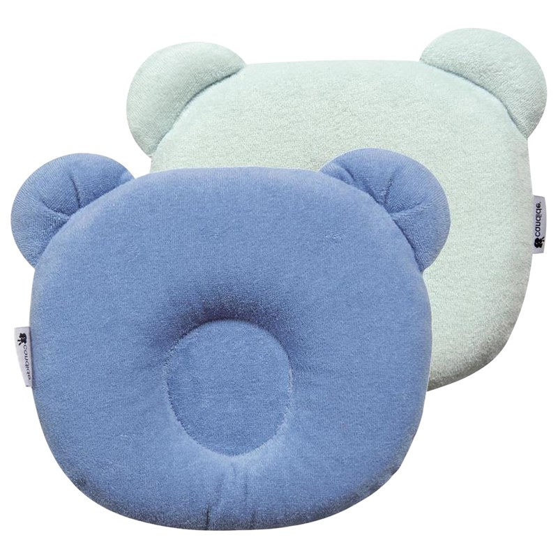 Candide Panda Baby Pillow Blue One Size