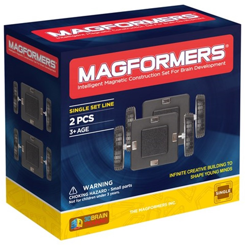 Magformers Magformers Hjul Set 2-Pack One Size
