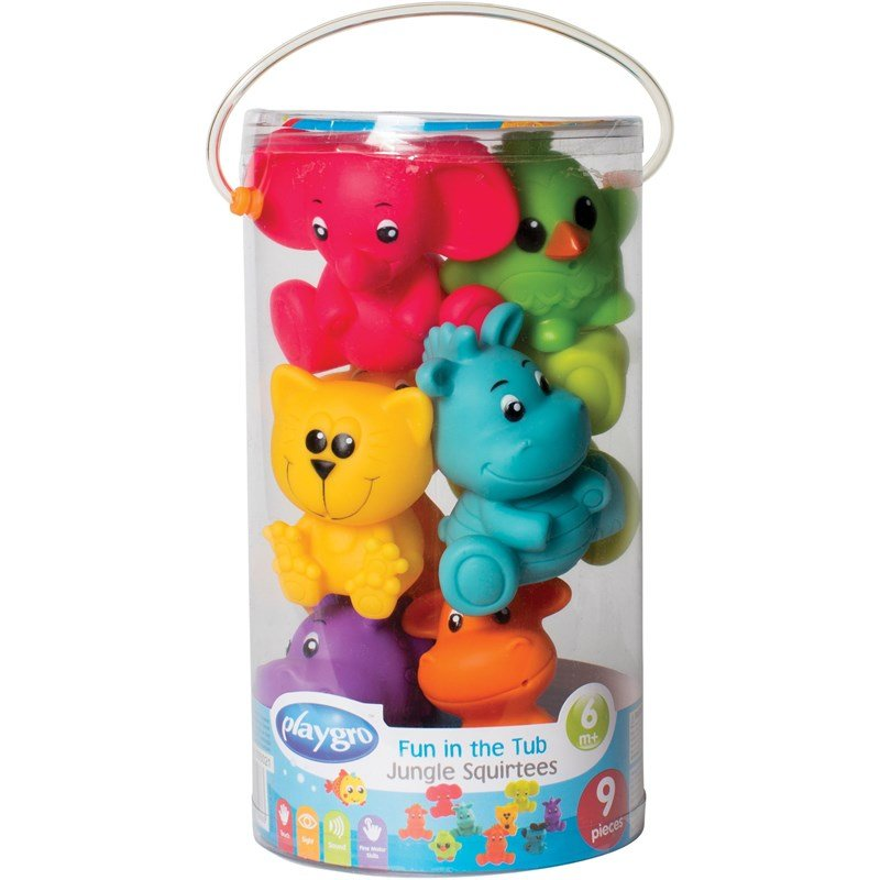 Playgro Fun In The Tub Jungle Squirtees 6 – 24 months