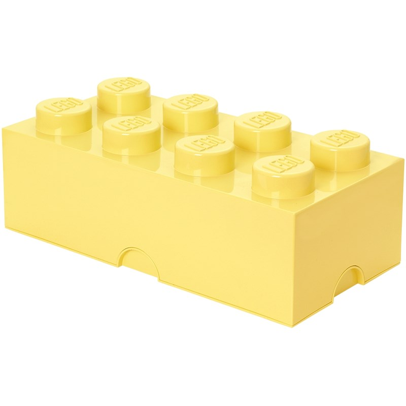 LEGO Inredning LEGO Förvaring 8 Design Collection Cool Yellow One Size