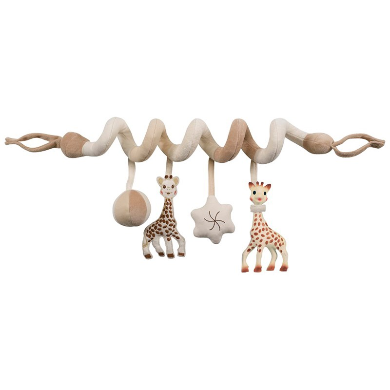 Sophie The Giraffe So Pure Activity Spiral One Size