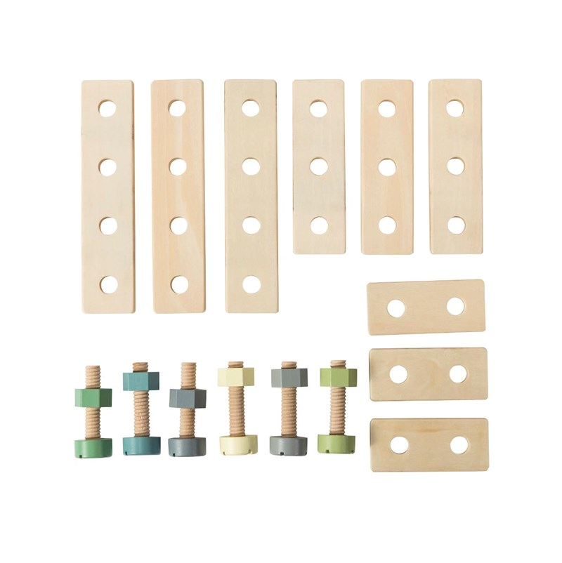 sebra Construction set Wood One Size