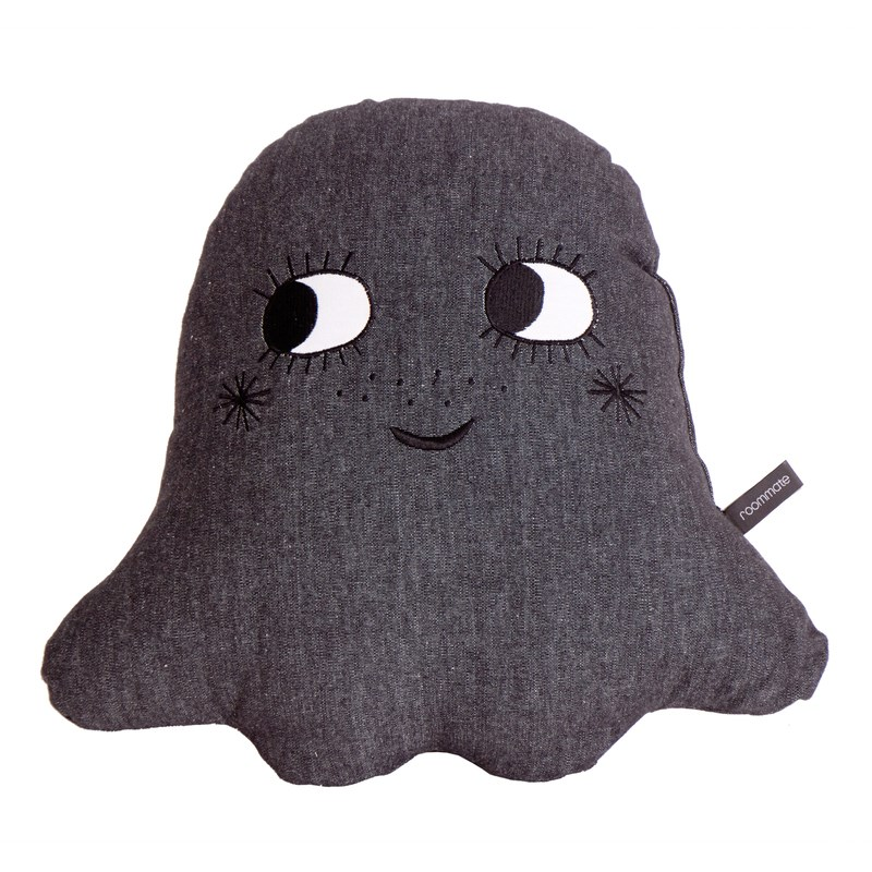 Roommate Little ghost Kudde Anthracite One Size