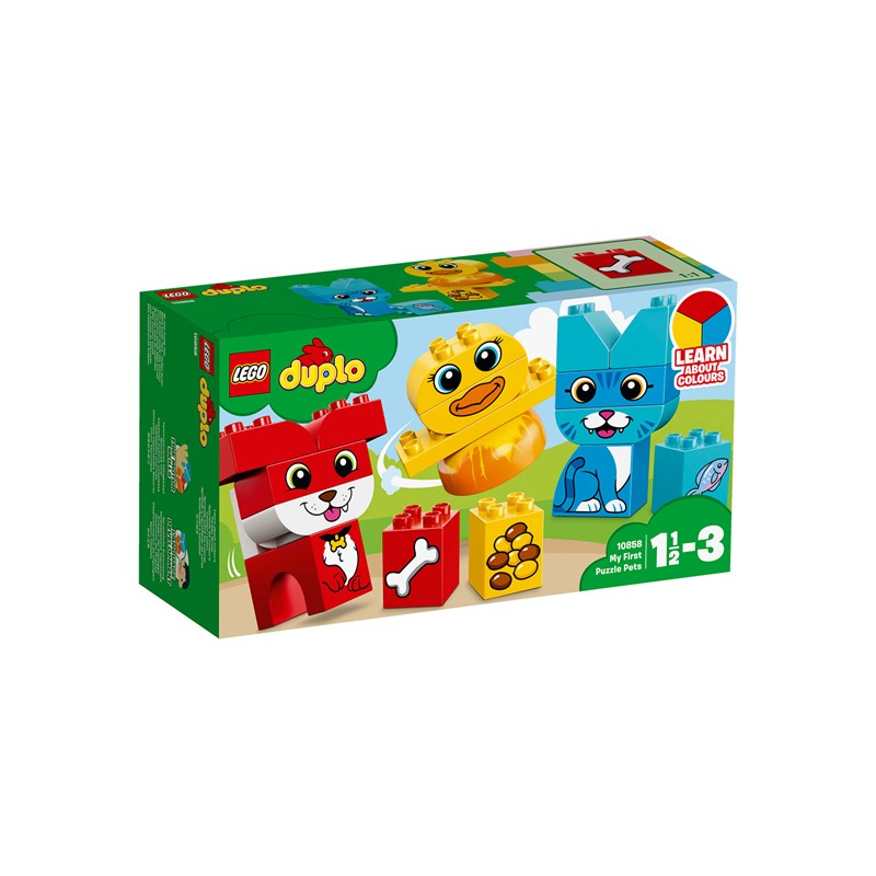 LEGO DUPLO 10858 LEGO DUPLO® My First Puzzle Pets One Size
