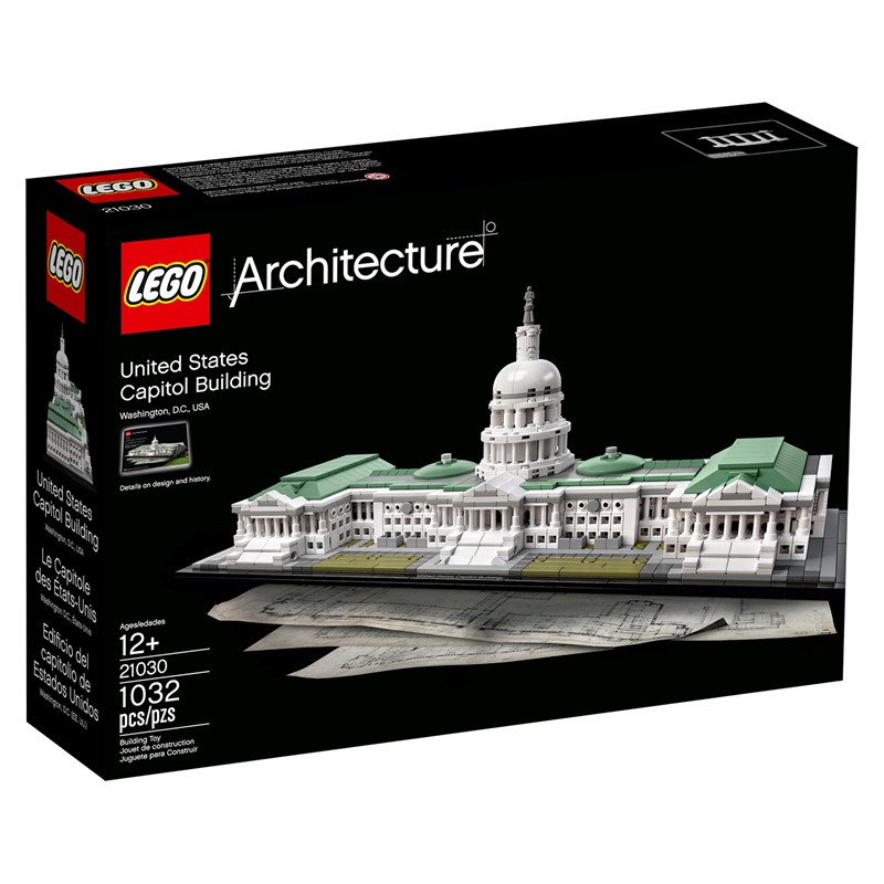 LEGO Architecture 21030 LEGO® Architecture United States Capitol Building 12+ years