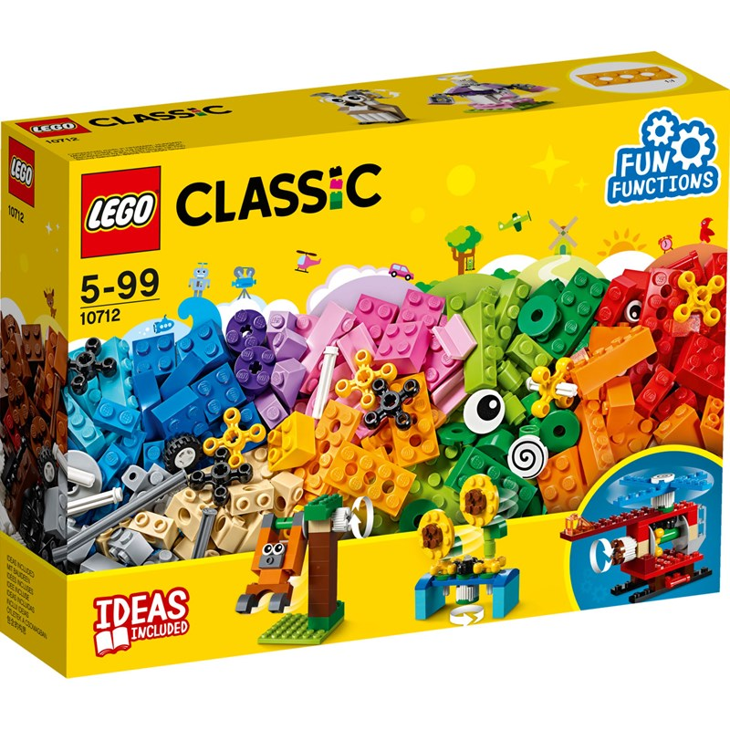 LEGO Classic 10712 LEGO® Classic Bricks and Gears One Size