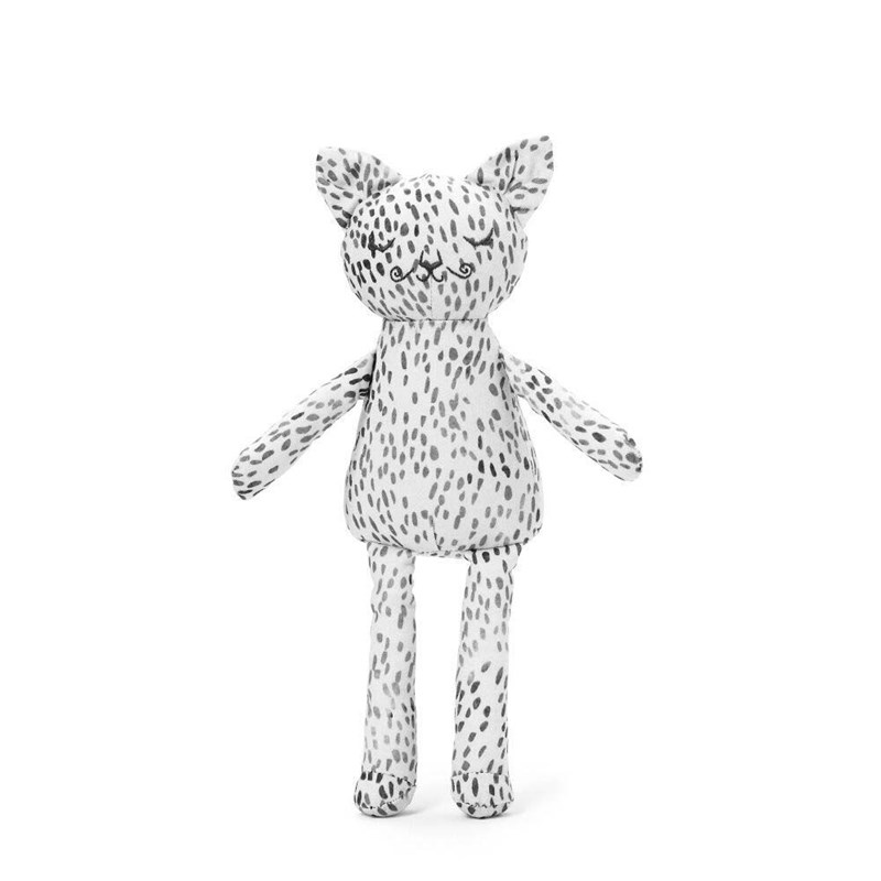 Elodie Snuggle Pal Tøjdyr Dots of Fauna Kitty One Size