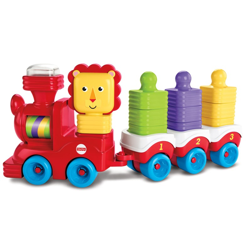 Fisher Price Little Stackers Lion Locomotive 6 – 24 mån