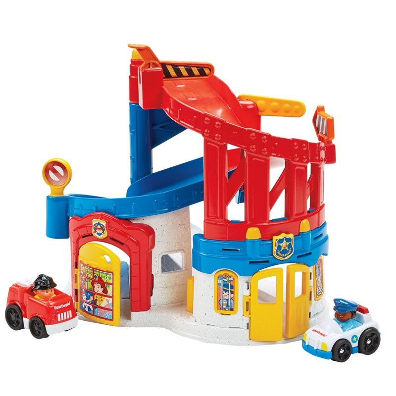 Fisher Price Little People Race and Chase Rescue 12 mån – 4 år
