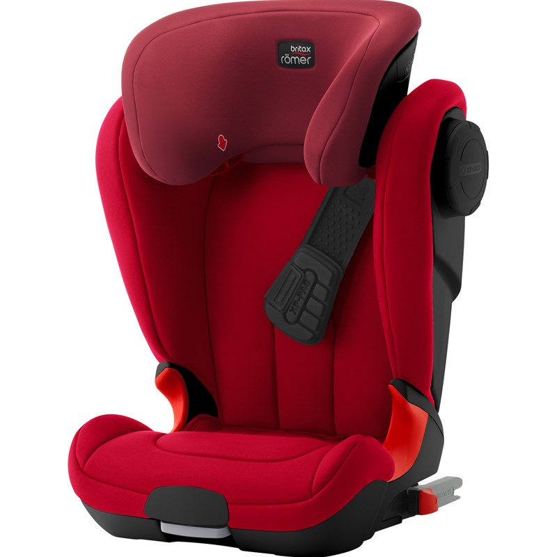Britax Kidfix Xp Sict Black Series Flame Red One Size