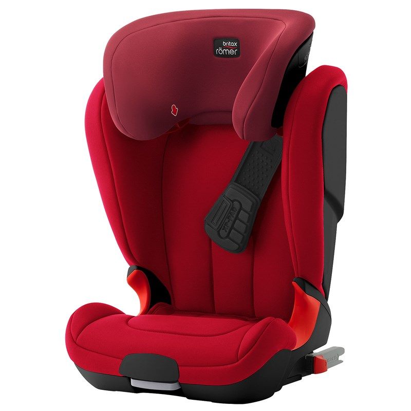 Britax Kidfix XP Black Series Flame Red One Size