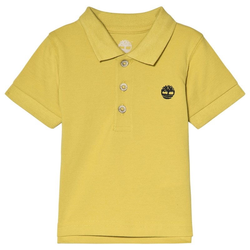 Timberland Classic Tree Logo Polo Skjorta Lime 9 months