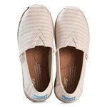 Toms Stripe Woven Espadrilles with Rope Sole
