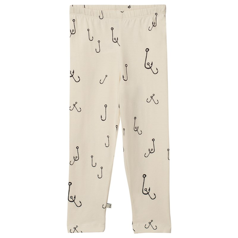 Emma och Malena Krok Kids Leggings Off-white