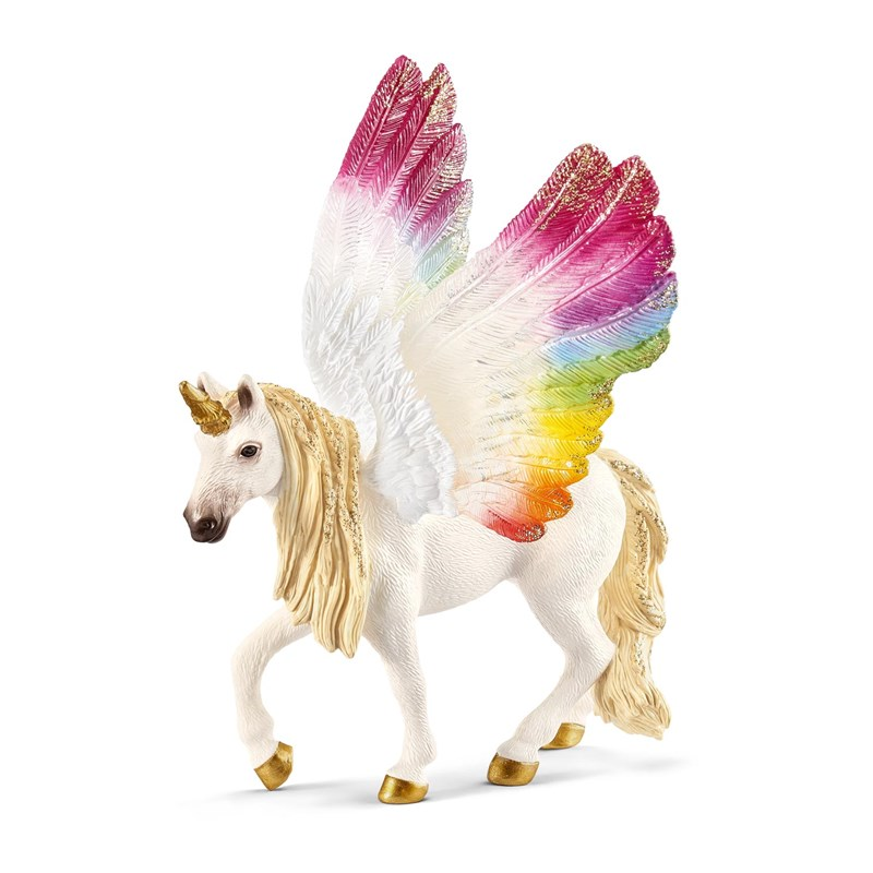 Schleich Winged rainbow unicorn 3 – 8 år