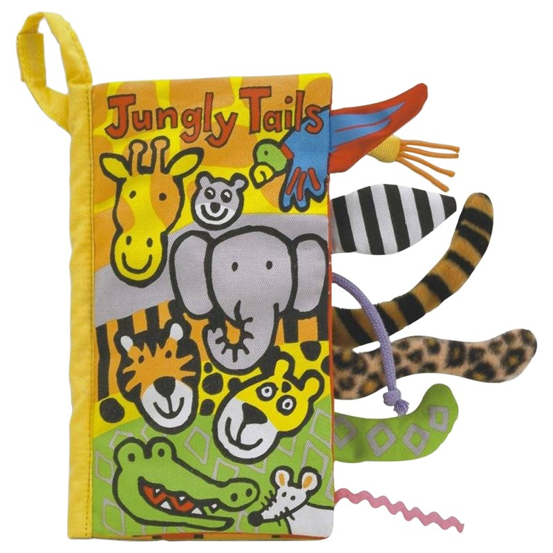 Jellycat Jungly Tails Book OneSize