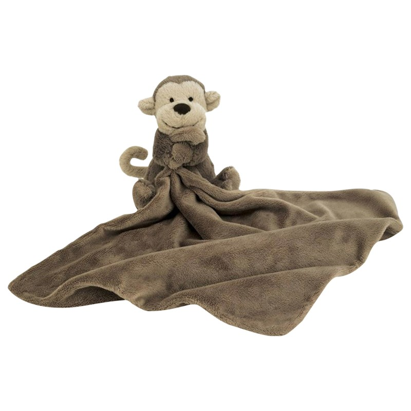 JellycatBashful Monkey Snuttefilt