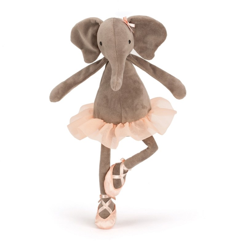 Jellycat Dancing Darcey Elefant One Size