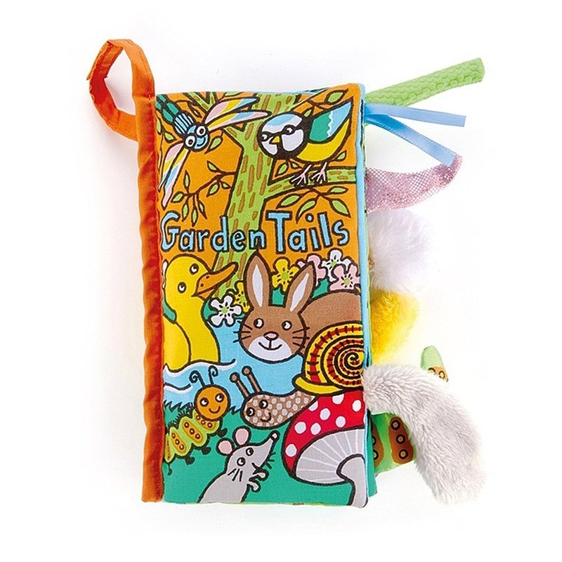 Jellycat Garden Tails Book One Size