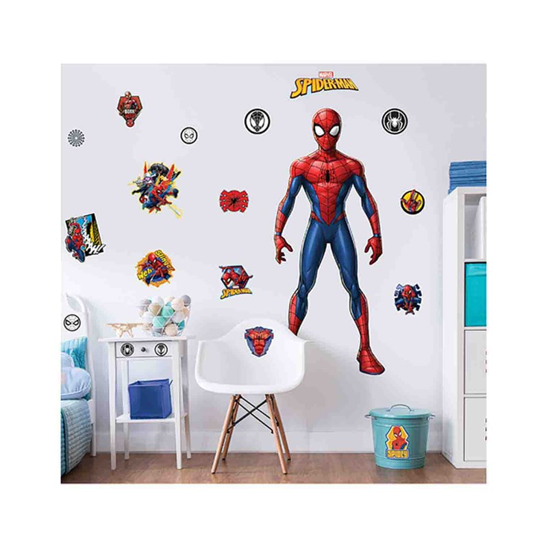 Walltastic Marvel Spider-Man Large Character Sticker One Size