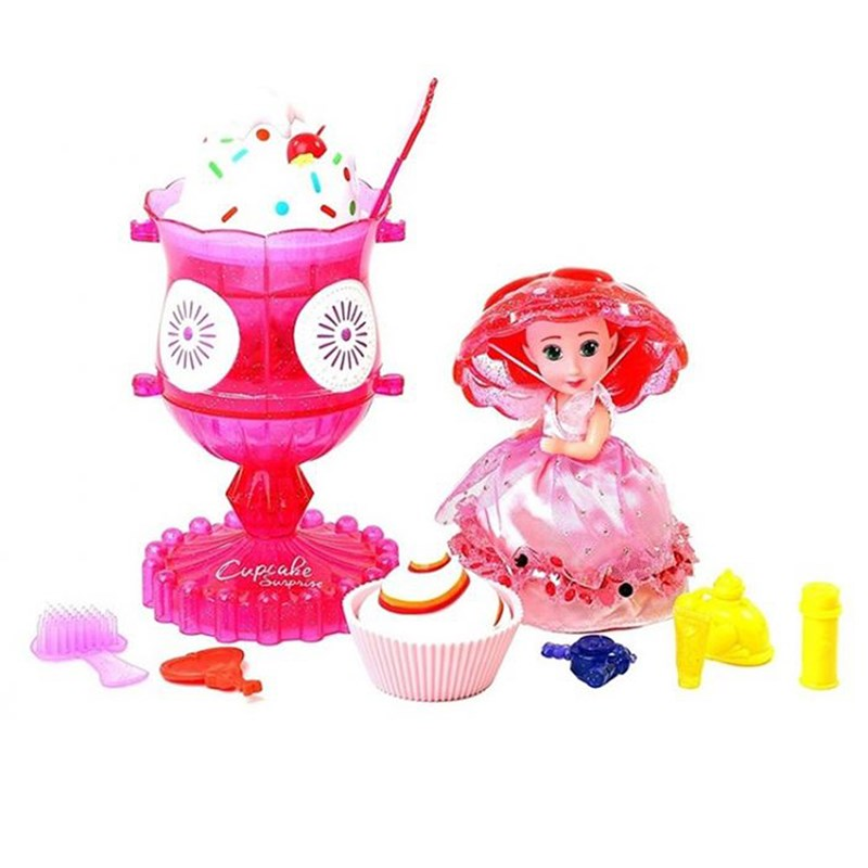 Cupcake Surprise Cupcake Delights Ice Cream Set Rosa 3 – 8 years