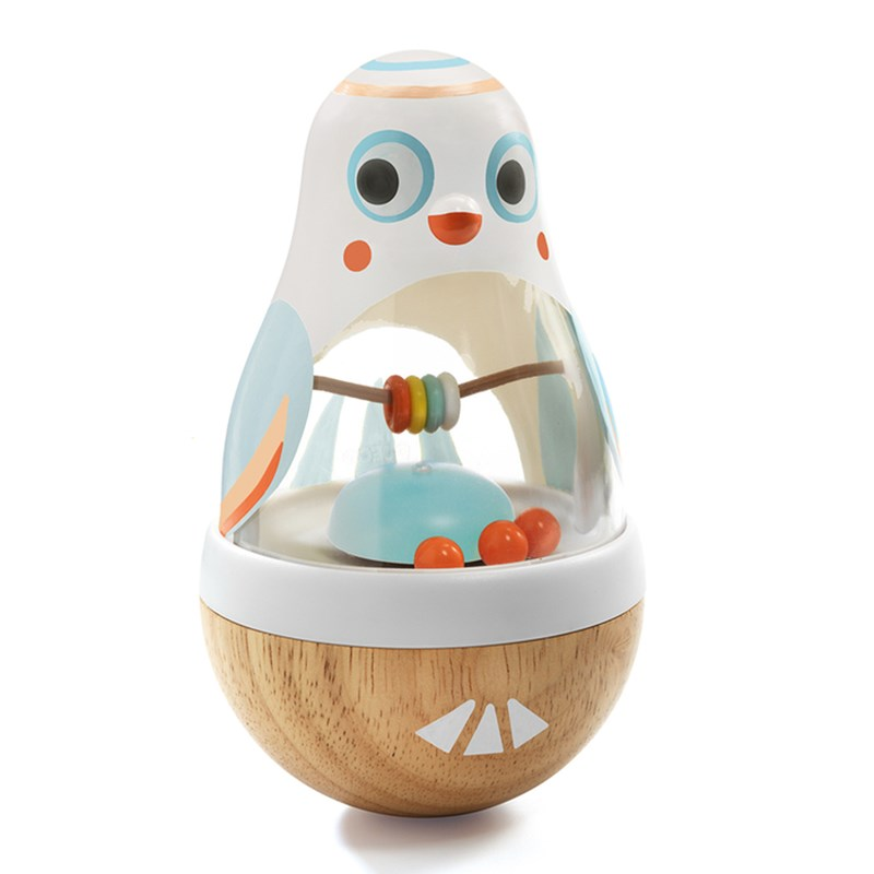 Djeco Baby White Poli activity toy 6 – 12 months