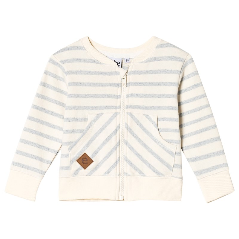 ebbe KidsGrant sweat jacket Blue fog stripe62 cm