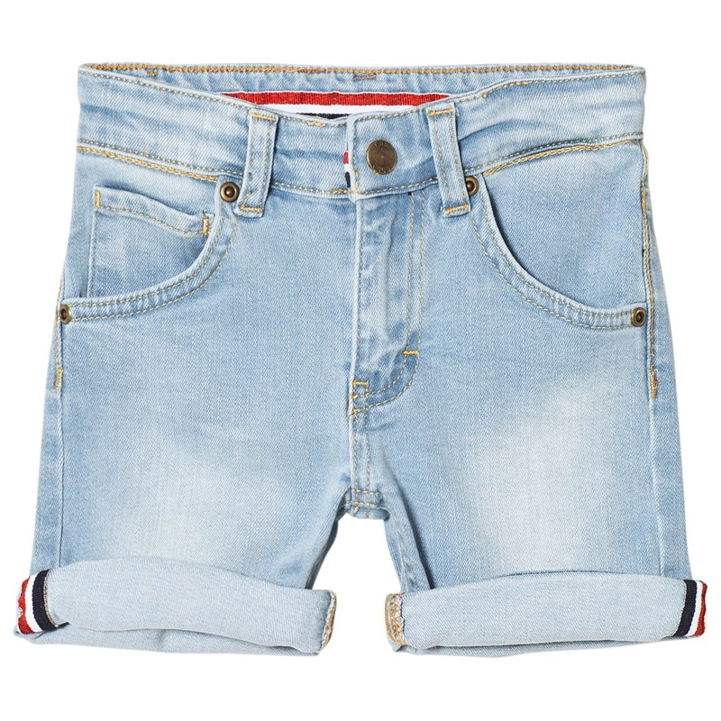 ebbe Kids Eddie denim shorts Light blue 122 cm