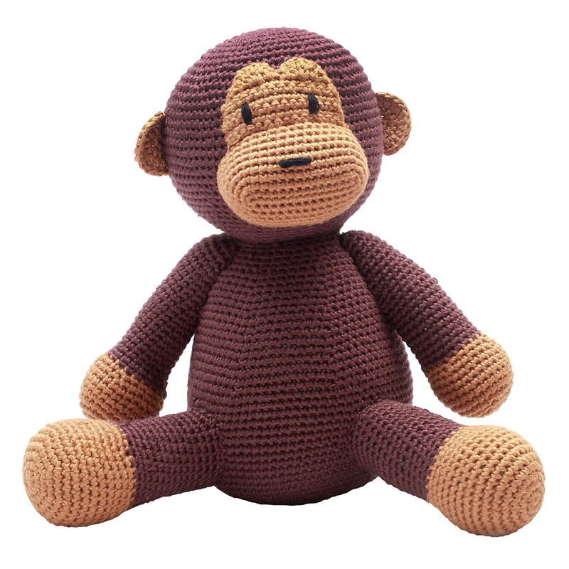 natureZOO Mr. Monkey Pehmolelu One Size