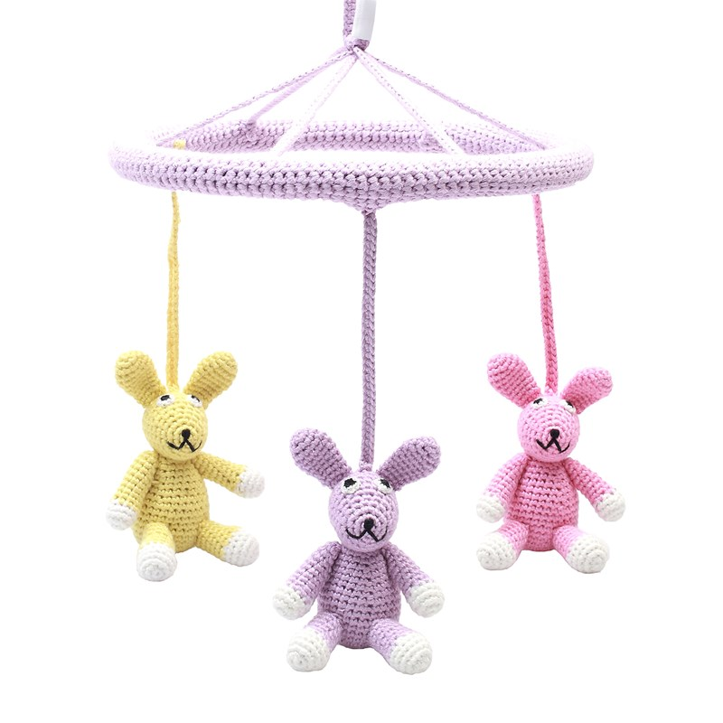 natureZOO Mobiles – Rabbit Pink One Size