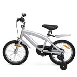 STOY Speed Cykel 16 tum Silver
