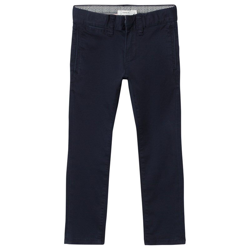 Name It Robin Twianders Cropped Chinos Dark Sapphire