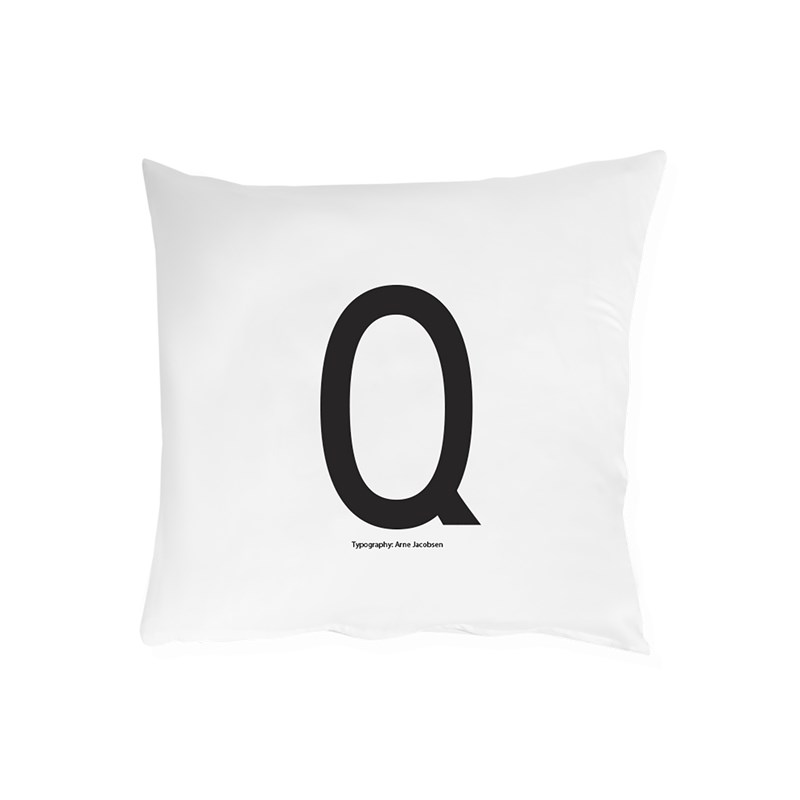 Design Letters Pillowcase Q
