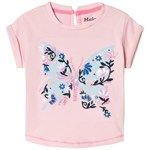Hatley Prairy Butterfly T-shirt Rosa